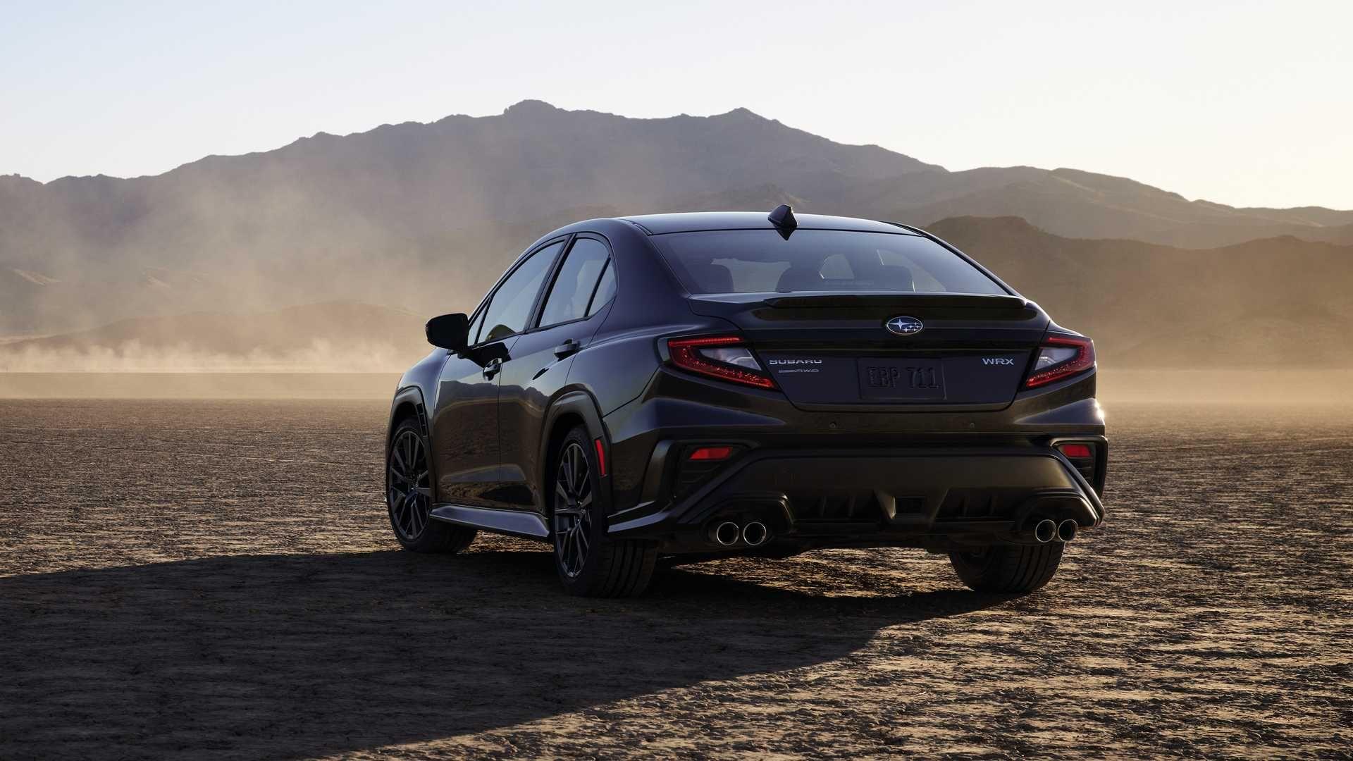 Subaru WRX нового поколения представлен официально 2