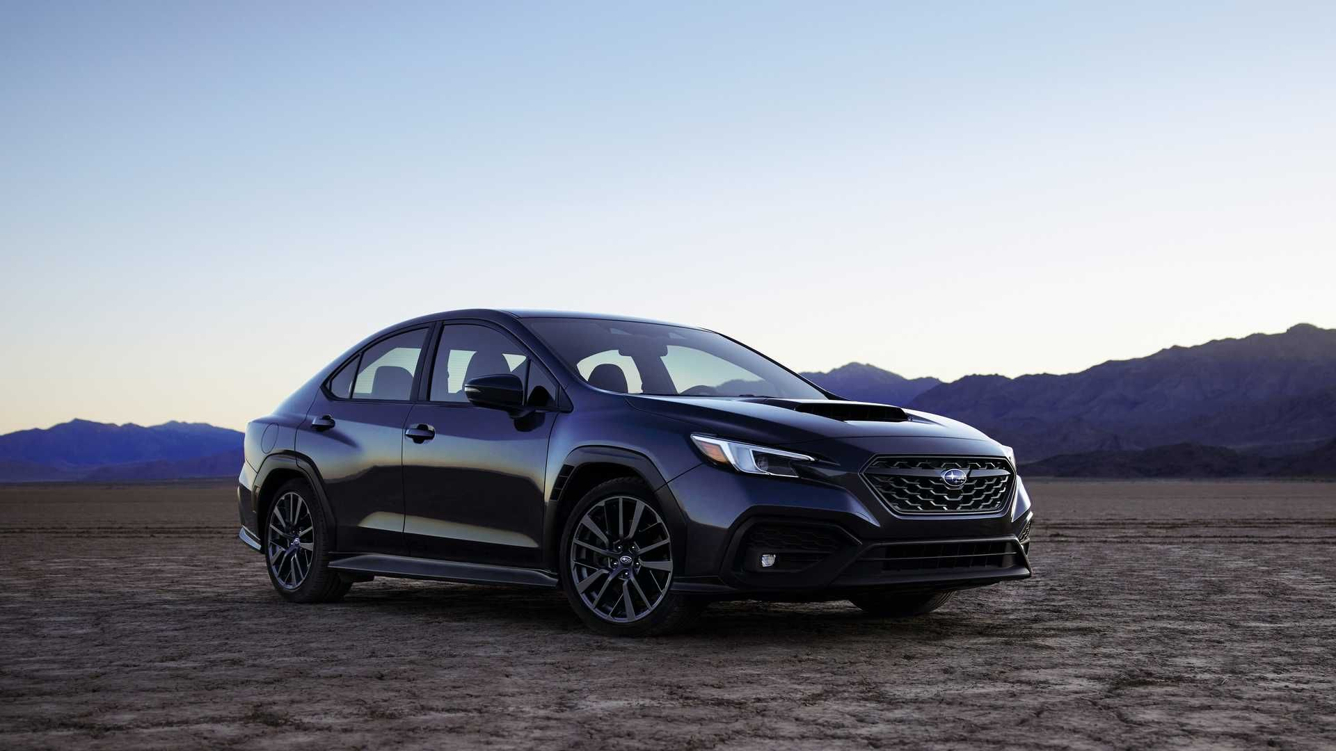 Subaru WRX нового поколения представлен официально 1
