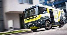 Концепт електричної пожежно-рятувальної машини знайшов собі роботу в Голлівуді