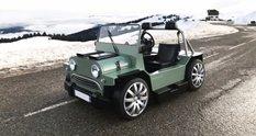 Людовік Лазарет продає крихітні баггі Mini Moke з монструозним мотором Maserati V8