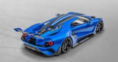 Le Mansory зробила для Ford GT унікальний повністю карбоновий кузов