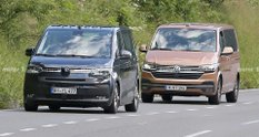 Volkswagen T7 показався на фото разом з T6