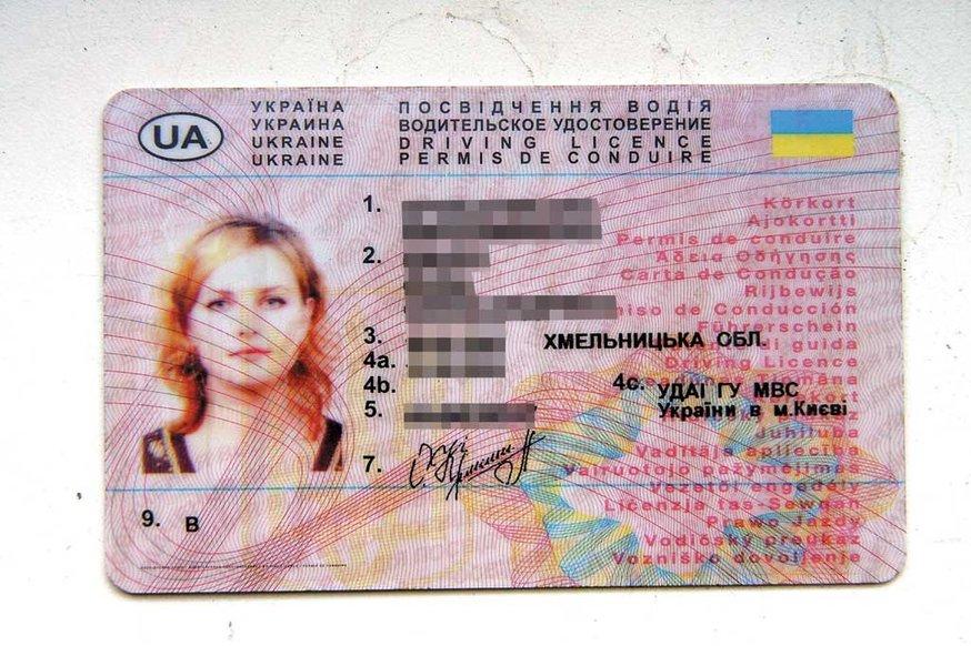 Закон о водительских правах для граждан украины 2019