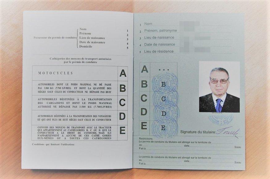 Украинские международные водительские права