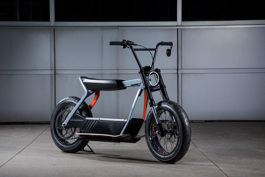 Harley-Davidson випробовує електроскутер та електровелосипед: відео