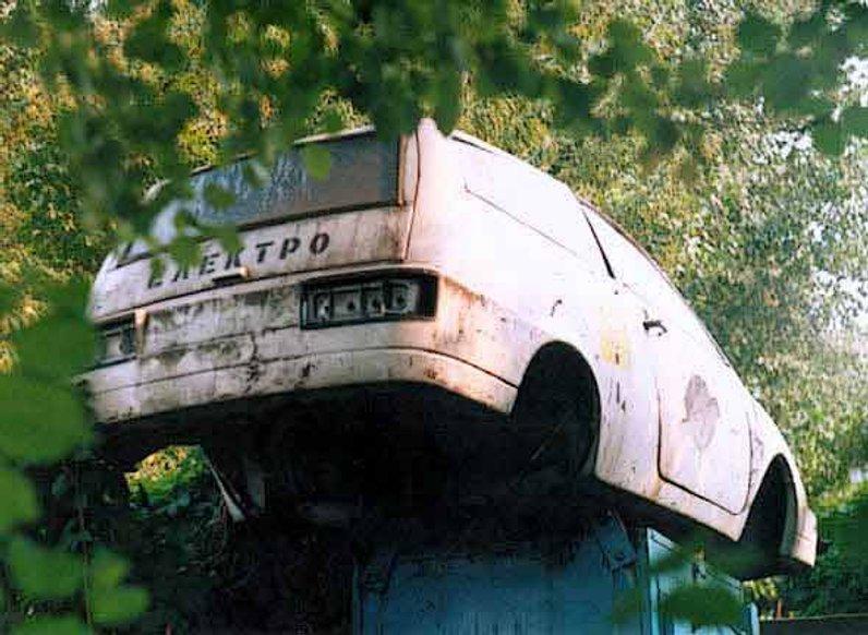 """""""Київ-1103"""": як загинув перший український електромобіль"""