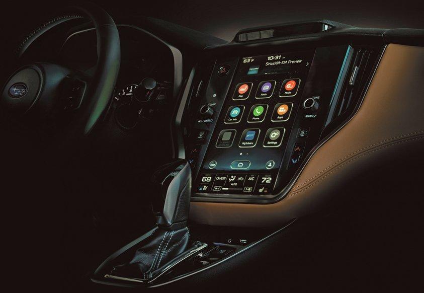 Subaru представить нове покоління Legacy вже за тиждень