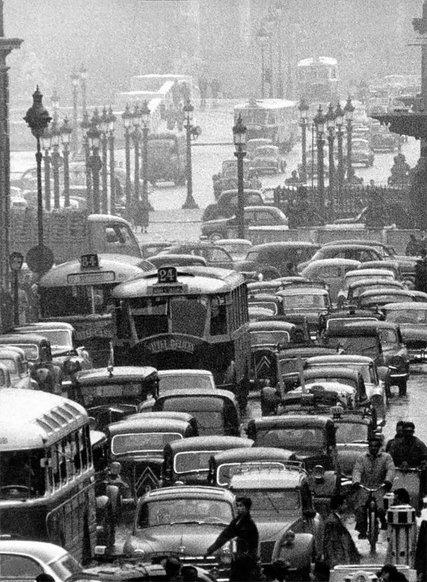 Ці вражаючі фото доводять, що дорожні затори були вже у 1880-х