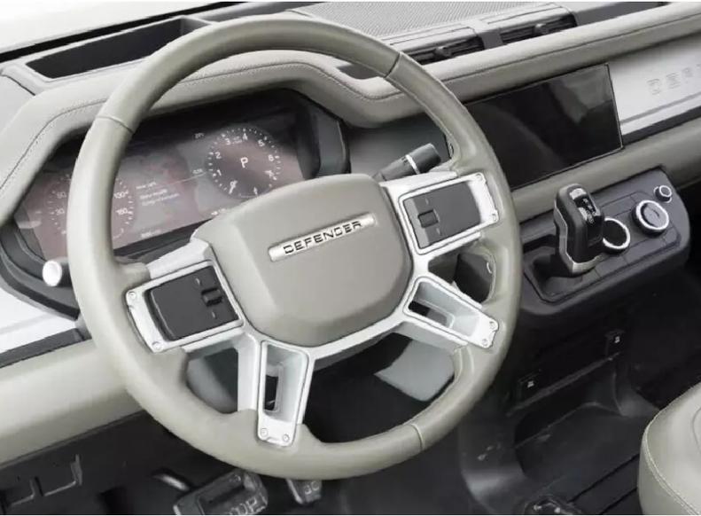 Класика 2020-х: Land Rover Defender нового покоління показав модерновий інтер'єр