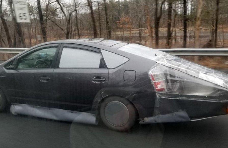 На дорозі у США помітили аеродинамічний і енергоефективний Prius