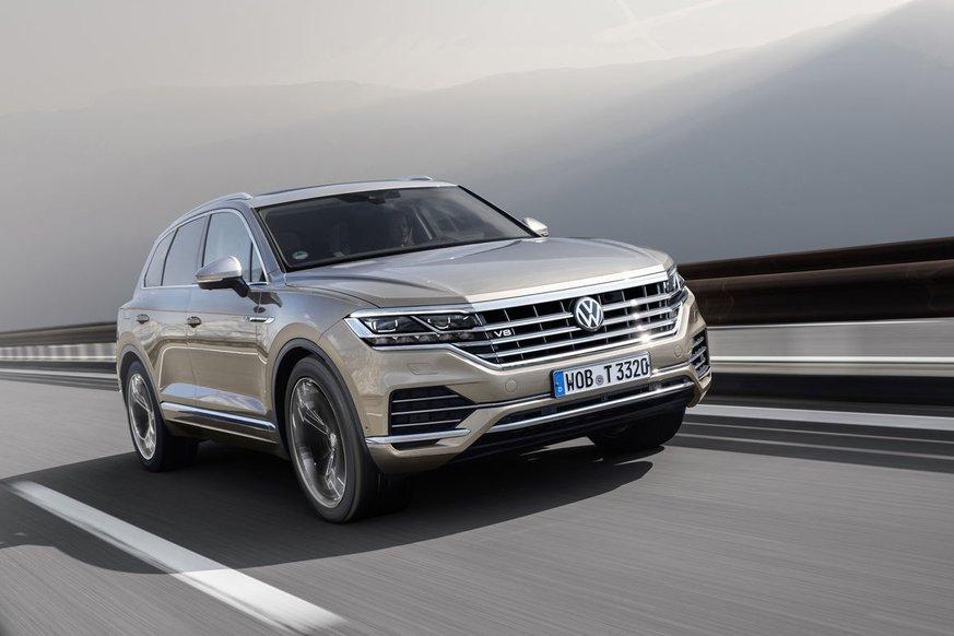 Volkswagen Touareg отримав потужну версію з мотором V8