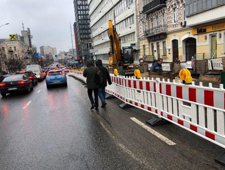 У Києві запроваджують єдиний стандарт дорожніх огорож