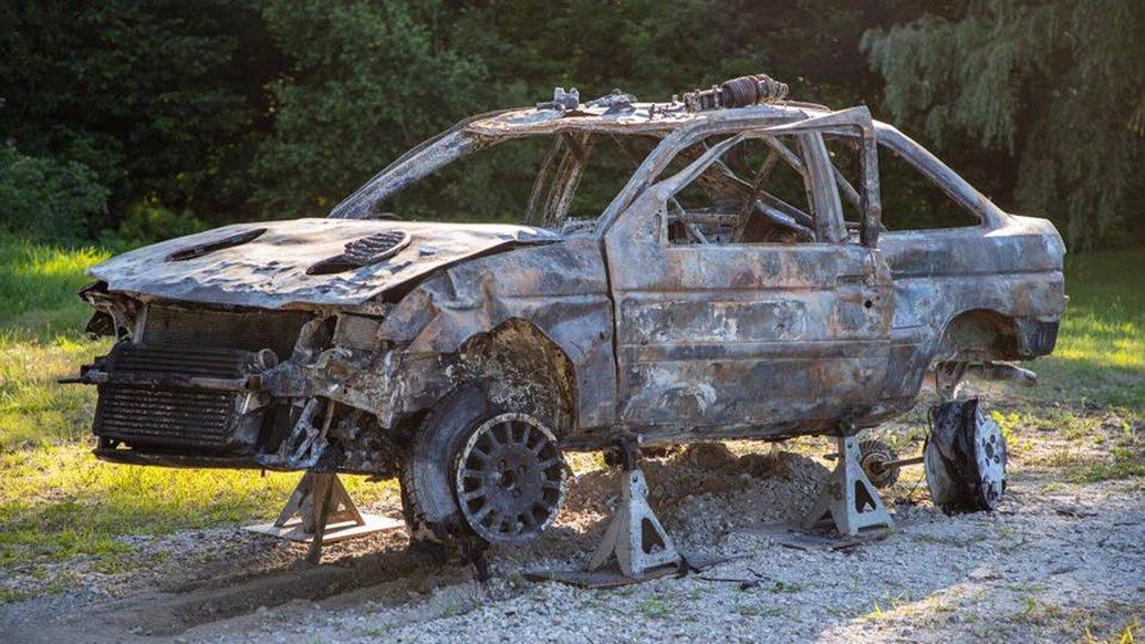 Ford Escort RS Cosworth Кена Блока повернувся до життя ще кращим