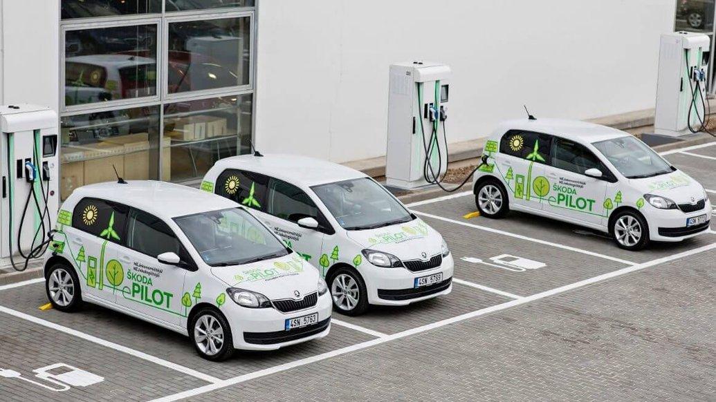 Skoda вивела на дорожні тести у Чехії групу електрокарів