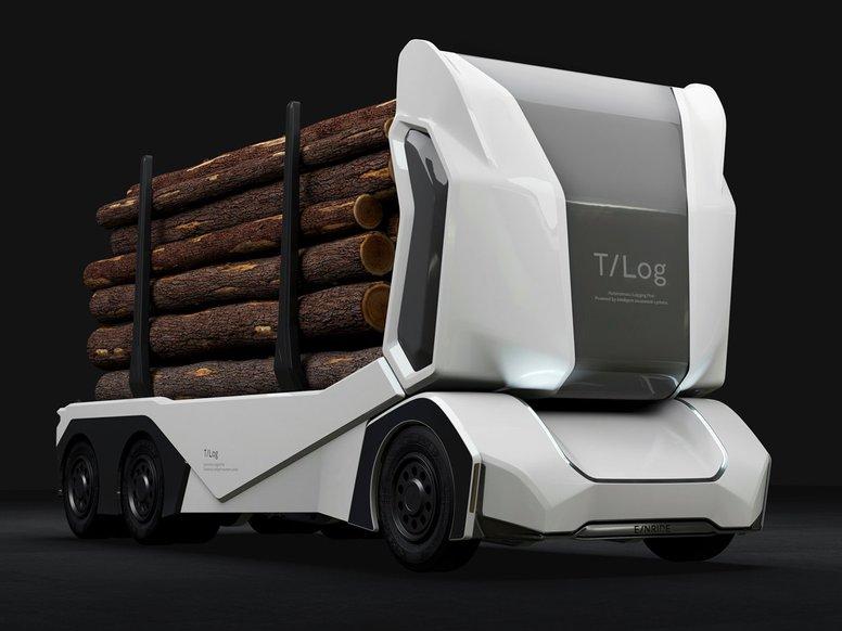 26-тонні безпілотники Einride T-Pod вже працюють на громадських дорогах у Швеції