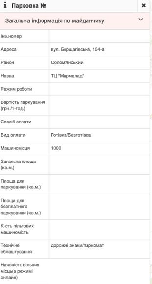 Де паркуватись в Києві: інтерактивна карта легальних місць для стоянки