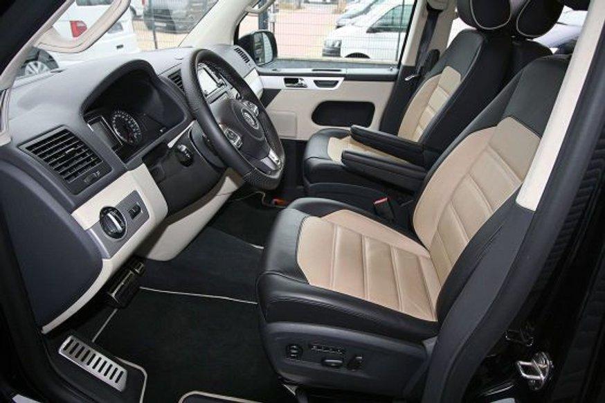 """Німецькі тюнери """"впихнули"""" в Volkswagen T5 Multivan 700-сильний двигун"""