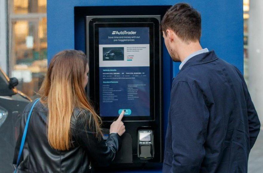 В Лондоні встановили автомат з продажу електромобілів
