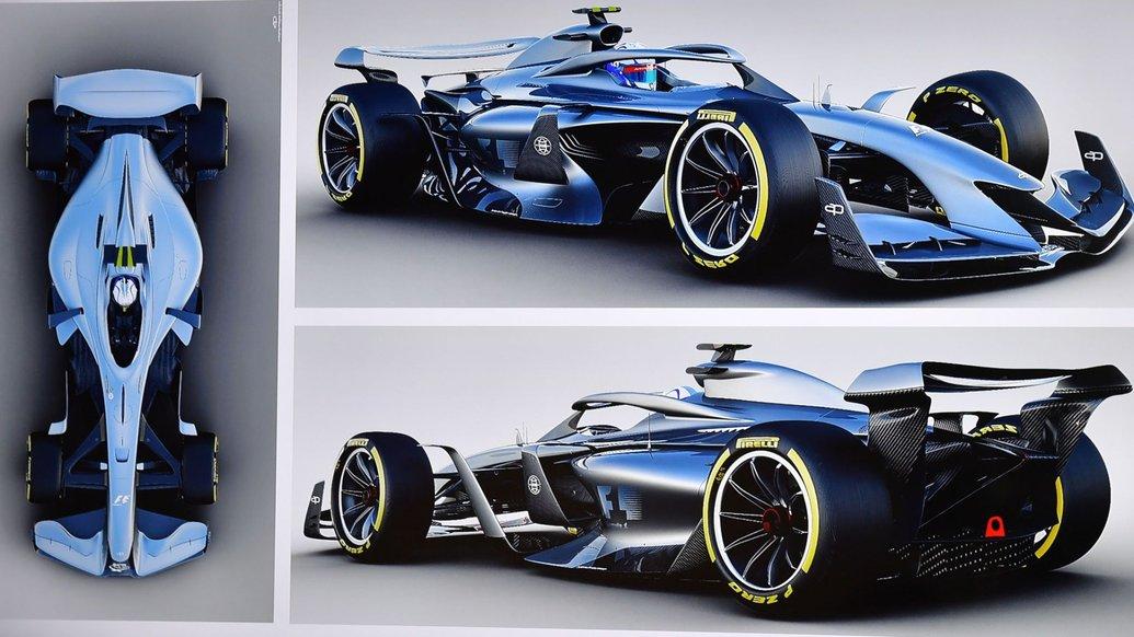 Формула 1 показала на відео вражаючу аеродинаміку боліда для сезону 2021 року