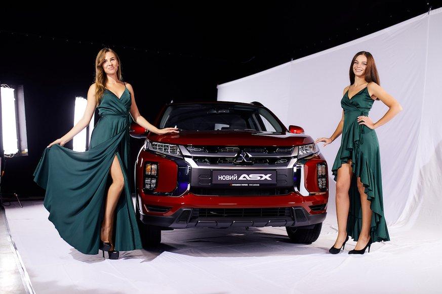 "Оновлений Mitsubishi ASX презентували в стилі ""екшин"""