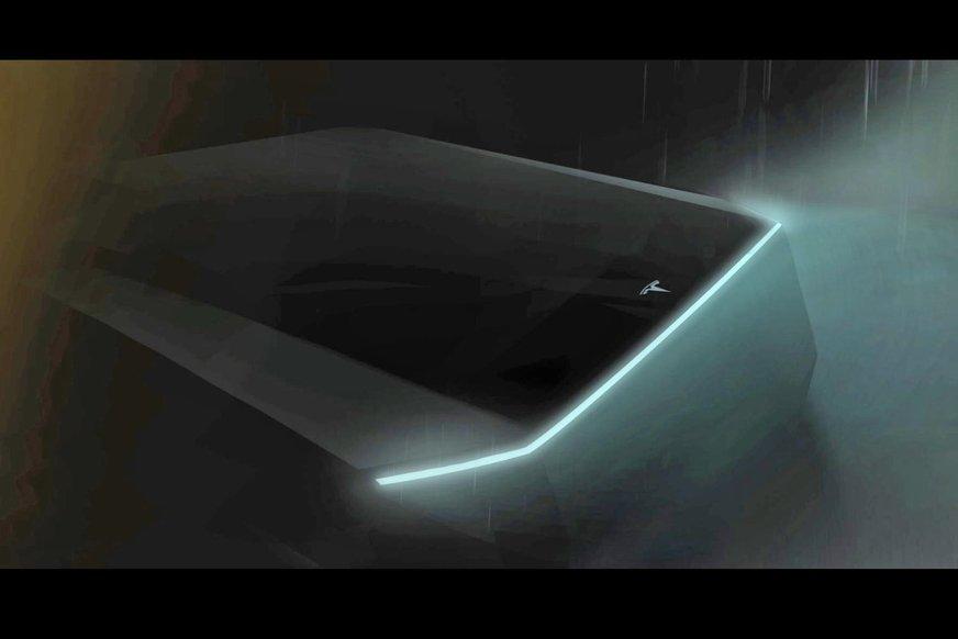 тізер Tesla Pickup