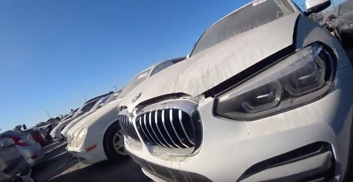 Які автомобілі не варто брати на аукціоні Copart в Лос-Анджелесі: відео