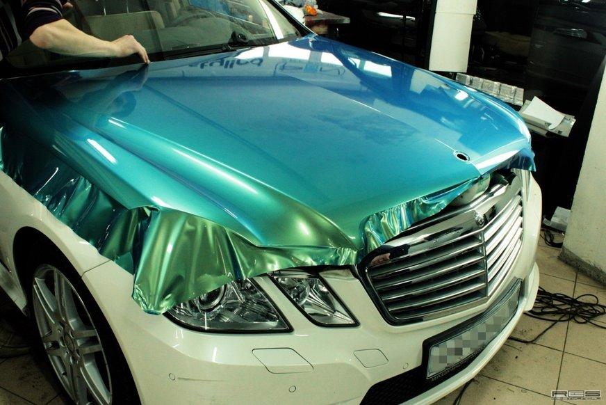 Плівка на авто: чим плівка краще за фарбу