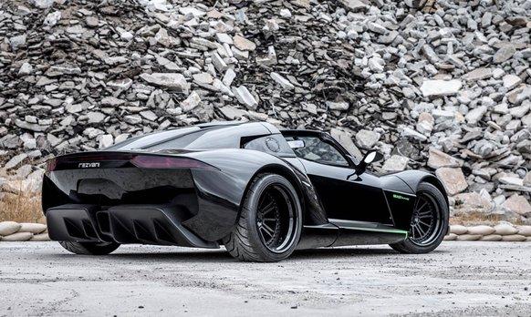 Rezvani Beast Alfa X Blackbird back