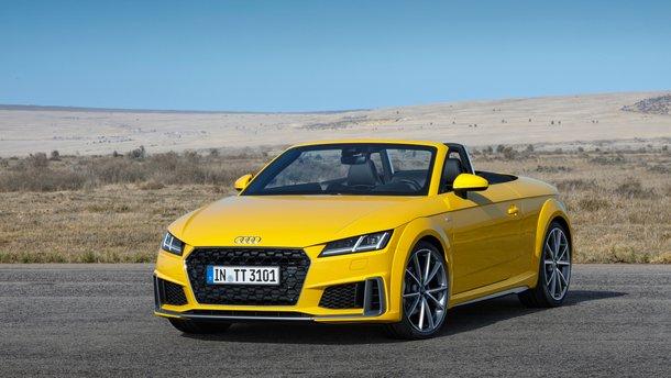 Audi представила оновлені TT та TTS, а також ювілейну TT 20 Years edition