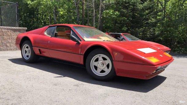 Реставрацію Ferrari, що тривала 3 роки, показали у 7-хвилинному відео