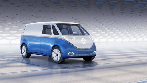 Электробус Volkswagen ID Buzz Cargo выедет на дороги в 2021 году