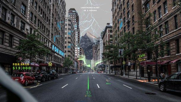Hyundai розробить навігаційну систему з доповненою реальністю