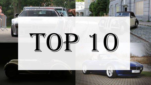 Определены 10 самых популярных  подержанных автомобилей в Украине
