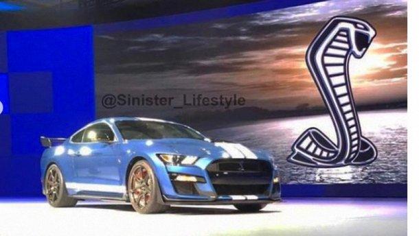 2020 Ford Shelby GT500 просочився через Інстаграм