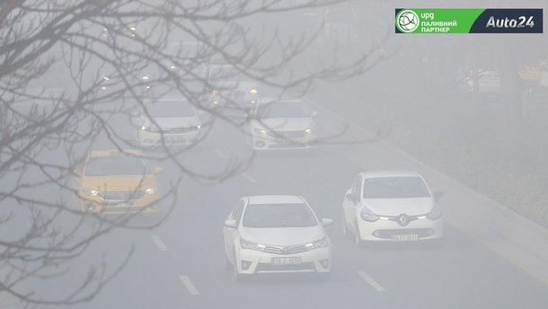 Як слід їздити в тумані і в умовах недостатньої видимості
