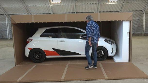 Джеймс Мей стверджує, що його відео розпаковки Toyota Yaris GRMN –краще в інтернеті