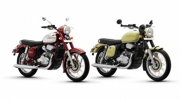 Jawa показала три нові мотоцикли