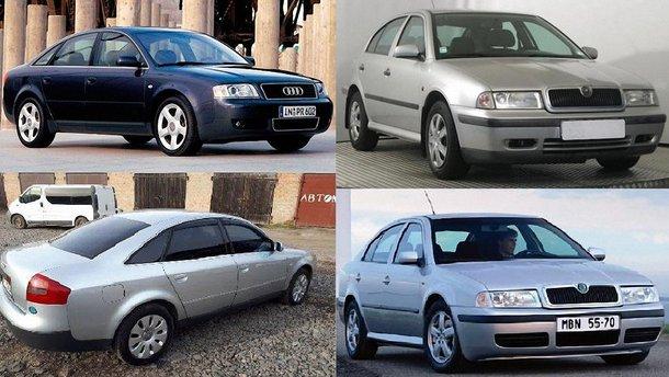"Битва ""євроблях"": Audi A6  проти Skoda Octavia"