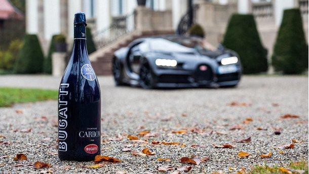 Champagne Carbon ƎB.01 для Bugatti: пити й не п'яніти