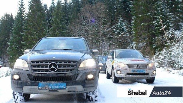 В Карпати з лижами: їдемо на курорт машиною