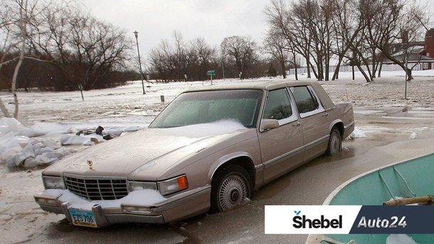 Як паркуватись, якщо завтра мороз