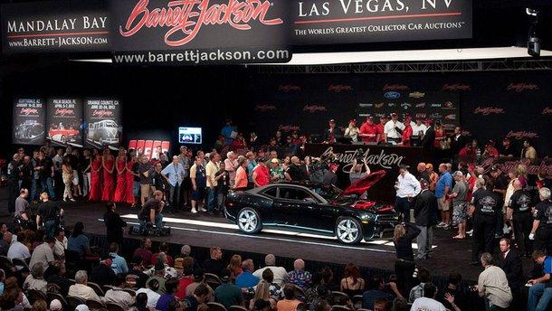 10 найдорожчих автомобілів, проданих аукціоном Barrett-Jackson цього року