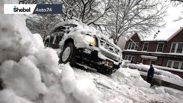 Як їздити по мокрому: який сніг страшніший автомобілісту