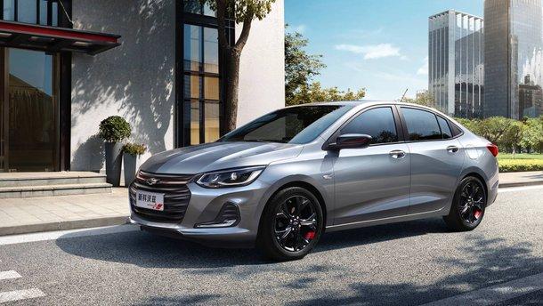 Chevrolet показав новий седан Onix, який замінить Cruze