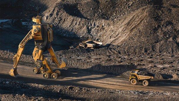 Екскаватори-трансформери загрібають золото тоннами: галерея фото