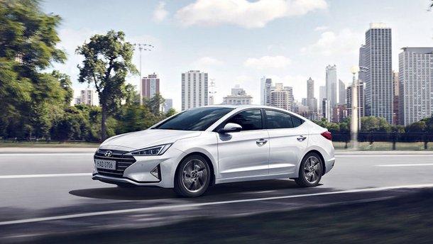 Украинские дилеры начали продажу новой Hyundai Elantra