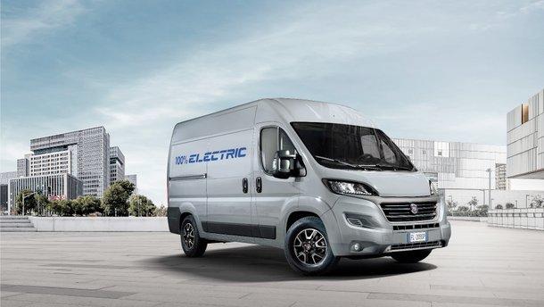 Італійці представили новий фургон Fiat Ducato й анонсували його електричну версію