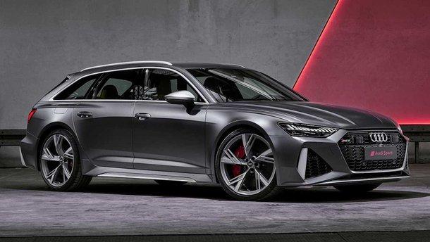 Потужний універсал Audi RS6 Avant представлений офіційно