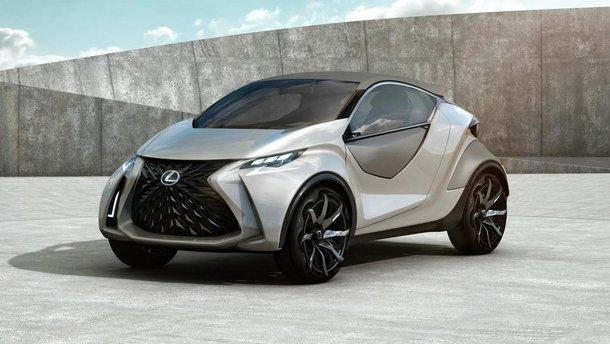 Перший електричний Lexus буде схожим на smart