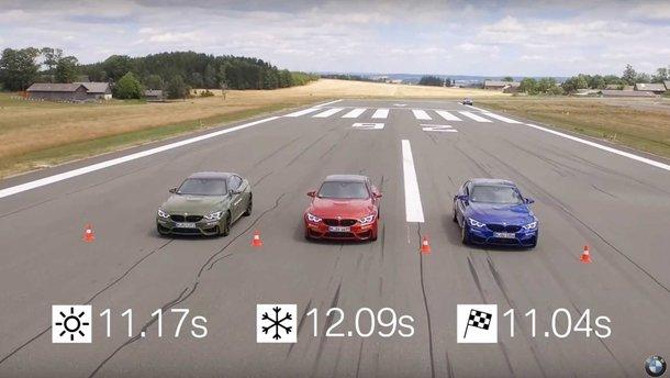 Відео: BMW показала на навіщо потрібно міняти літні шини на зимові